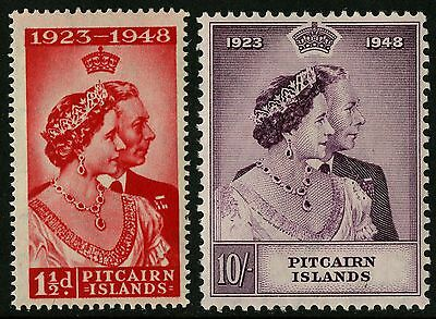 Pitcairn Islands   1948   Scott # 11-12    Mint Lightly Hinged Set