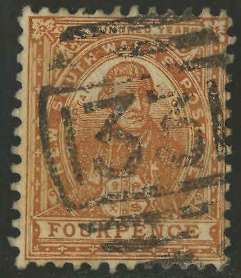 New South Wales   1888-89   Scott # 79a   USED
