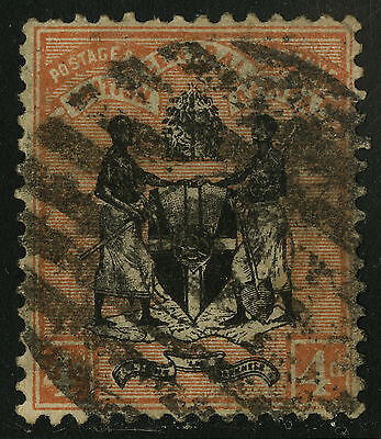 British Central Africa   1895   Scott #23   USED