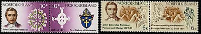 Norfolk Island   1971  Scott # 145a-147a  Mint Never Hinged Set