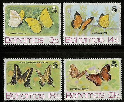 Bahamas   1975   Scott # 370-373  MNH Set