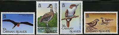Cayman Islands   1986   Scott # 551-554   Mint Never Hinged Set