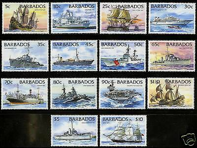 Barbados 1994  Scott # 872-885  MNH Set