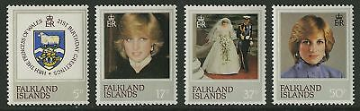 Falkland Islands  1982  Scott #348-351  Mint Never Hinged Set