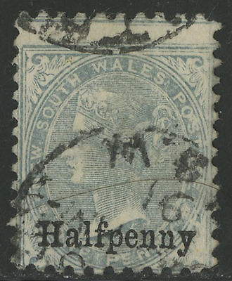 New South Wales   1891   Scott # 92   USED