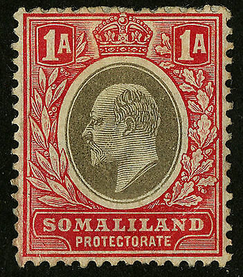 Somaliland Protectorate   1905   Scott # 41   Mint Hinged