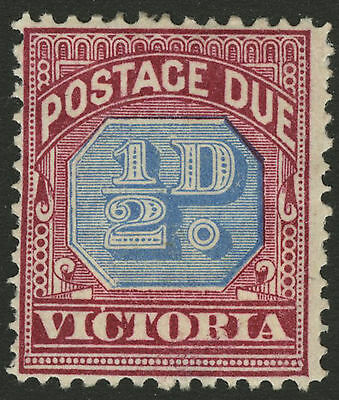 Victoria   1890   Scott # J1   Mint Hinged