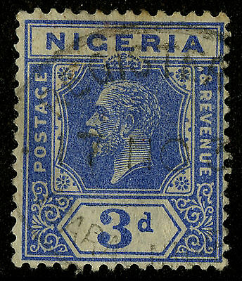 Nigeria  1921-33   Scott #26     USED
