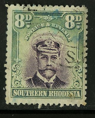 Southern Rhodesia   1924-30   Scott #8   USED