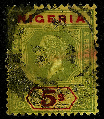 Nigeria  1921-33   Scott #31     USED