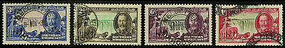 Southern Rhodesia  1935   Scott # 33-36  USED Set