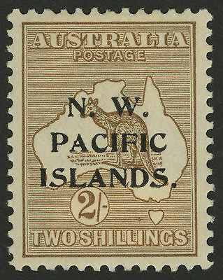 North West Pacific Islands   1915-16   Scott # 21  Mint Light Hinged - Very Fine