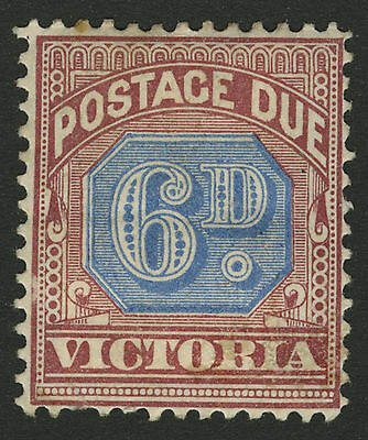 Victoria   1890   Scott # J6   Mint Hinged