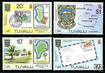 Tuvalu  1980  Scott # 133-136  MNH  Set