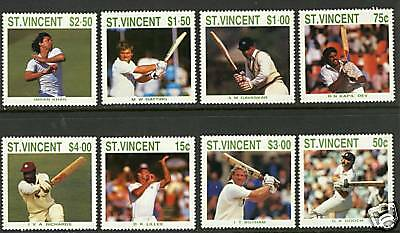 St Vincent   1988  Scott #1108-1115  MNH Set