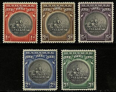 Bahamas   1930   Scott # 85-89   MH Set