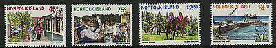 Norfolk Islands   1996   Scott # 606-609    Mint Never Hinged Set