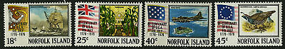 Norfolk Island  1976   Scott # 194-197  MNH Set