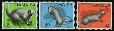 Jamaica  1973  Scott # 366-368  MNH Set