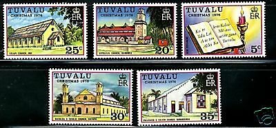 Tuvalu  1976  Scott # 38-42  MNH  Set