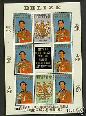 Belize 1982  Scott #663  MNH Sheet