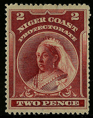 Niger Coast  1894  Scott # 45  Mint Hinged