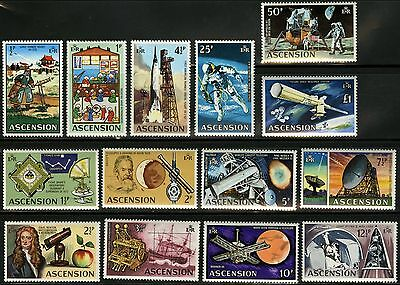 Ascension  1971   Scott # 138-151  MNH Set