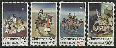 Norfolk Islands   1985   Scott # 373-376    Mint Never Hinged Set