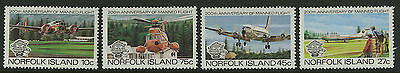 Norfolk Island   1983   Scott # 310-313    Mint Never Hinged Set