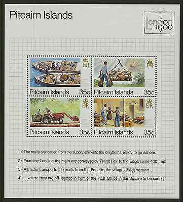 Pitcairn Islands  1980  Scott #192  MNH Souvenir Sheet