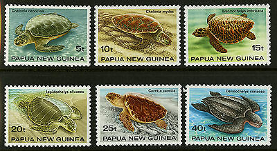 Papua New Guinea   1984   Scott # 592-597    Mint Never Hinged Set