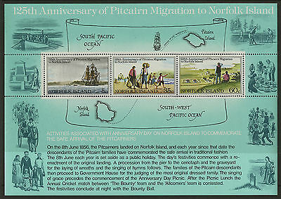 Norfolk Islands   1981   Scott # 279a    Mint Never Hinged Souvenir Sheet