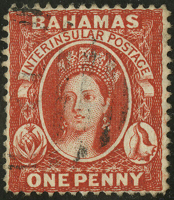 Bahamas   1882-98   Scott # 20   USED