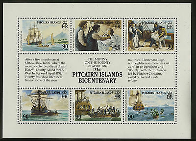 Pitcairn Islands  1989  Scott #321  MNH Souvenir Sheet