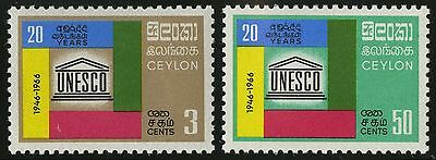 Ceylon   1966   Scott # 396-397  MLH Set