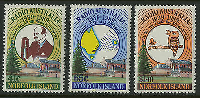 Norfolk Island   1989   Scott # 466-468    Mint Never Hinged Set