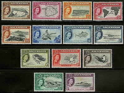Ascension  1956   Scott # 62-74  MLH Set