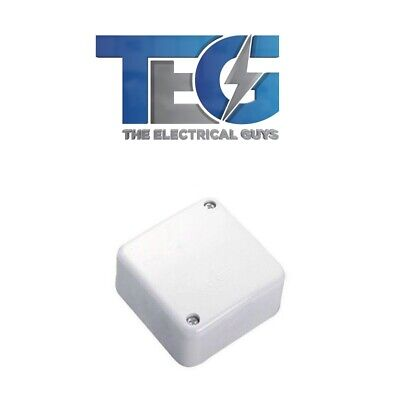 10 x Small Junction Box & Connectors NEW by ELS