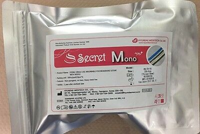 Secret Line PDO Thread Lift / Ultra V-Lift / Face Lift -  Mono 50pcs FREE SHIP