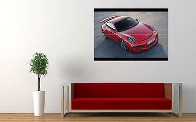 "2014 PORSCHE 911 GT3 NEW GIANT LARGE ART PRINT POSTER PICTURE WALL 33.1""x23.4"""