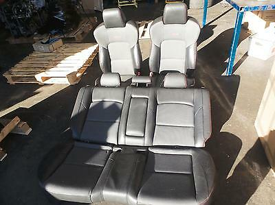 Mazda 3 Bk Mps Complete Front And Rear Interior Leather Cloth