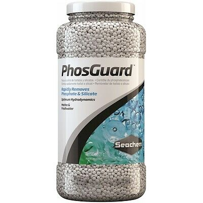 Seachem PhosGuard 500ml Phosphate and Silicate Remover for Marine and Freshwater