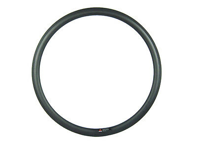 front 38mm deep and rear 50mm deep carbon clincher bike rims 20.5mm width