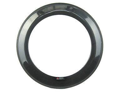 20.5mm width one pc 88mm deep tubular  carbon road racing rim