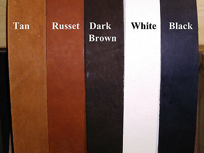 """Top grain-Leather strip/straps 1/8~1/4~3/8~1/2~5/8~3/4~1""""  wide 6 ft long  A-101"""