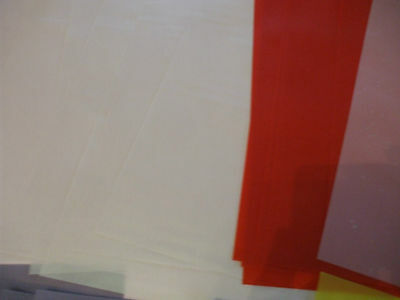 50 Sheets of assorted A4 Vellum