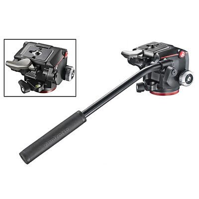 New Manfrotto MHXPRO-2W XPRO Fluid Head fluidity selector Quick Release MHXPRO2W