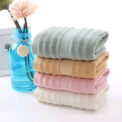 Bamboo Fiber Baby Newborn Towel Children Microfiber Thicken Washcloth 75*35cm