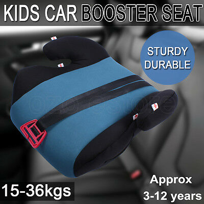 Car Booster Seat  Safe Sturdy Baby Child Kid Children Fit 3 To 12 Years Green AU
