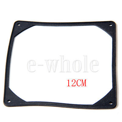120mm PC Case Fan Anti vibration Gasket Silicone Shock Proof Absorption Pad DG